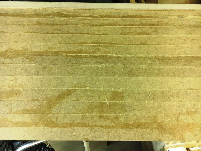 Seite mit Planken