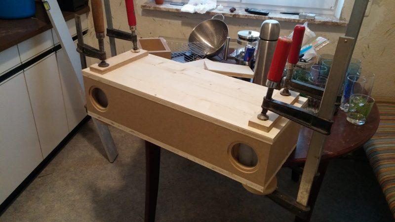 dayton rs100 pc upcycling lautsprecher selber bauen. Black Bedroom Furniture Sets. Home Design Ideas