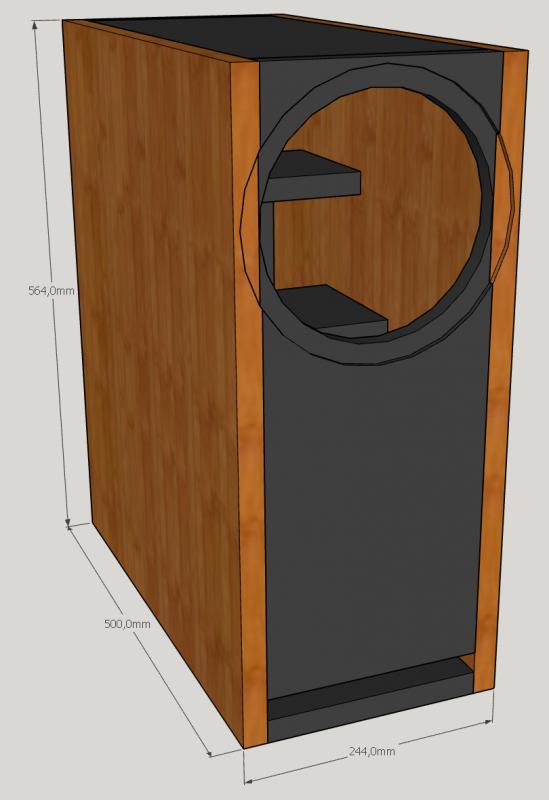 sb 23 3 esage lautsprecher selber bauen. Black Bedroom Furniture Sets. Home Design Ideas
