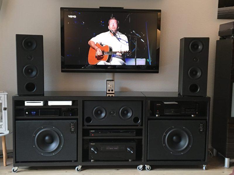 Ikea Besta Soundbar :-)
