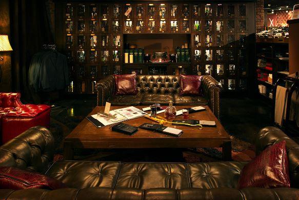 Gentleman-Lounge